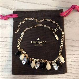 Kate Spade EUC Garden Paris Statement Necklace